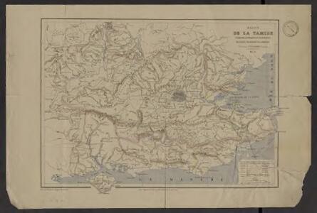 Bassin de la Tamise : et bassins secondaires du Blackwater, du Stour et du versant de la Manche