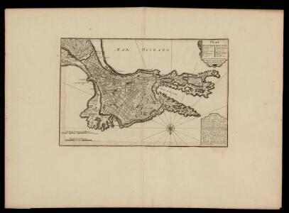 Plan de la ville de Cadis