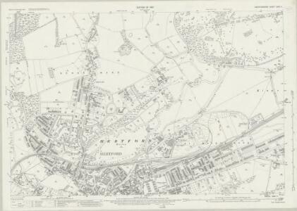 Hertfordshire XXIX.11 (includes: Hertford; Ware Rural) - 25 Inch Map