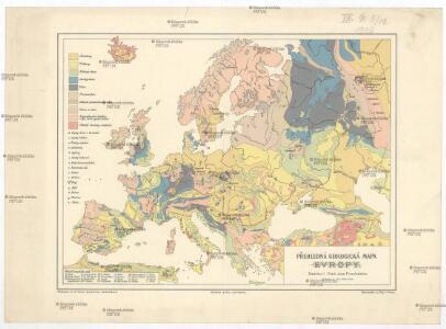 Prehledna Geologicka Mapa Evropy