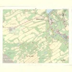 Alt Warnsdorf - c8331-1-006 - Kaiserpflichtexemplar der Landkarten des stabilen Katasters