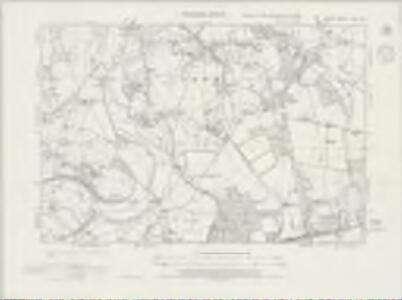 Surrey XXIV.NW - OS Six-Inch Map