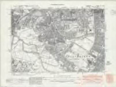 Lancashire CXI.NW - OS Six-Inch Map