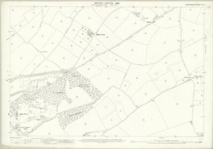 Hertfordshire XI.8 (includes: Hitchin Urban; Offley; Preston) - 25 Inch Map