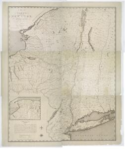 Map of the state of New York / by Simeon De Witt, surveyor general; engraved by G. Fairman.