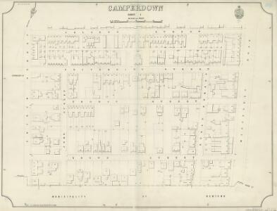 Camperdown, Sheet 1, 2nd ed. 1892