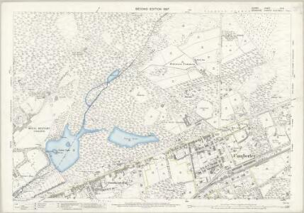 Surrey XV.3 (includes: Frimley; Sandhurst) - 25 Inch Map