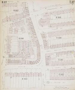 Insurance Plan of London North & North-East District Vol. E: sheet 27