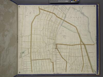 Bronx, Topographical Map Sheet 6; [Map bounded by Gambril St., Brook St., Low St., Lorilard Terrace, Bronx River, Southern Blvd., Kingsbridge, 3rd Ave., 182nd St.; Including  Washington Ave., New York and Harlem Railroad, Webster Ave., Folin St., 4th ...