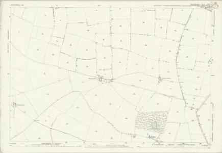 Huntingdonshire XXVI.1 (includes: Graveley; Great Paxton; Offord Darcy; Toseland) - 25 Inch Map