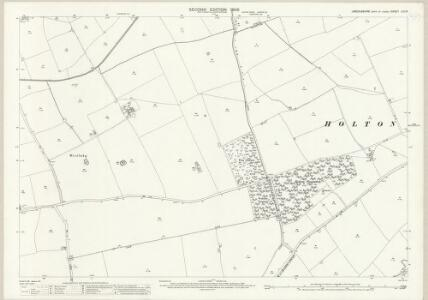Lincolnshire LIII.16 (includes: Fulnetby; Holton cum Beckering; Lissington; Wickenby) - 25 Inch Map