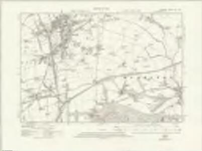 Durham XIII.NW - OS Six-Inch Map