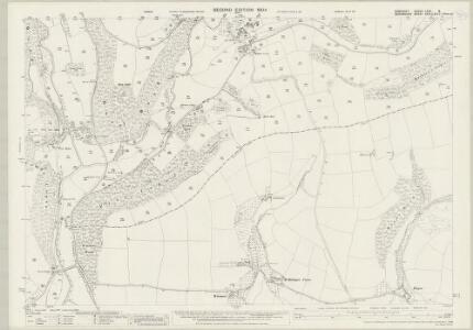 Somerset LXVII.8 (includes: Brompton Regis; Dulverton; Morebath) - 25 Inch Map