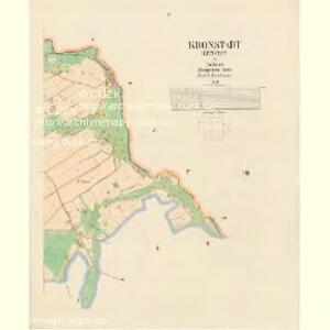 Kronstadt (Kunstat) - c5510-2-004 - Kaiserpflichtexemplar der Landkarten des stabilen Katasters