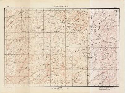 Lambert-Cholesky sheet 4064 (Muntele Piatra Mare)