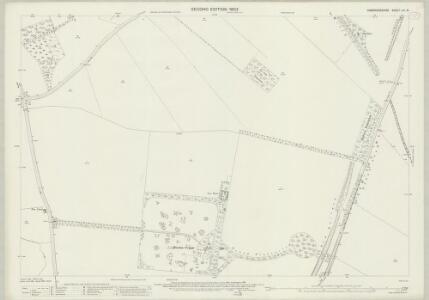 Cambridgeshire LIV.16 (includes: Great Abington; Hinxton; Pampisford) - 25 Inch Map