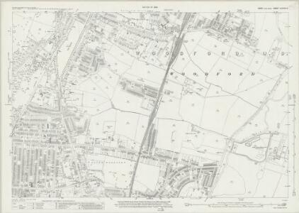 Essex (New Series 1913-) n LXXVIII.2 (includes: Woodford) - 25 Inch Map