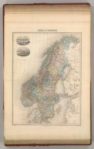 Suede et Norvege.