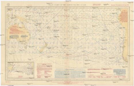 Pilot chart of the South Pacific Ocean