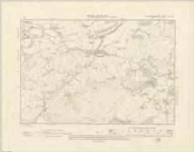 Montgomeryshire XXI.NE - OS Six-Inch Map