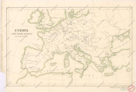 Evropa v době humdsko - germánské od 4. do 6. stol.