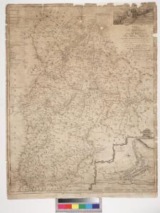 To the... Earl of March and Ruglen... this map of the County of Peebles or Tweedale is... inscribed by... Mostyn Jno. Armstrong