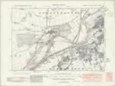 Yorkshire CCLXXXIV.NE - OS Six-Inch Map