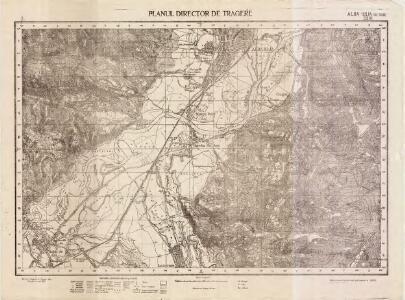 Lambert-Cholesky sheet 2961 (Alba Iulia(de sud))