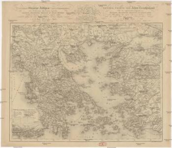 Universae Graeciae antiquae tabula geographica