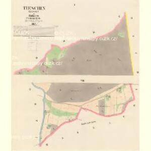 Tieschin (Tessin) - c7893-1-001 - Kaiserpflichtexemplar der Landkarten des stabilen Katasters