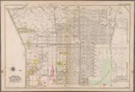 Plate 34: [Bounded by Ralph Avenue, E. 98th Street, Winthrop Avenue, E. 96th Street, Clarkson Avenue, E. 95th Street, Hunterfly Road, Broadway Avenue, Ralph Avenue, Clarkson Road, Canarsie Avenue, E. 49th Street, Snyder Avenue, E. 39th Street, Clarkson Avenue, Winthorp Street, Kingston Avenue and East New York Avenue.]; Atlas of the borough of Brooklyn, city of New York: from actual surveys and official plans by George W. and Walter S. Bromley.