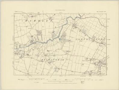 Norfolk LXXXIX.SE - OS Six-Inch Map