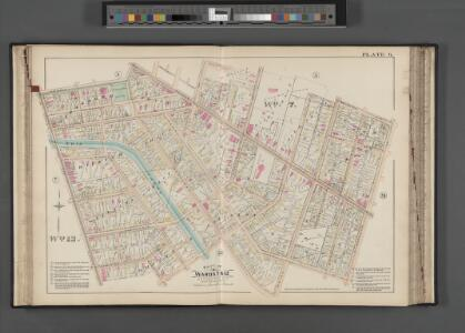 Rochester, Double Page Plate No. 6 [Map bounded by Brighton Ave., S. Goodman St., Averill Ave., South Ave.] / compiled from official records, private plans & actual surveys under the direction of E. Robinson.