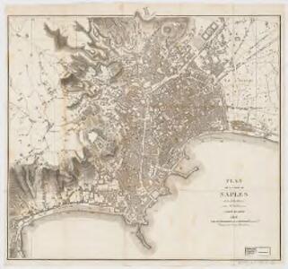 Plan de la ville de Naples : et ses indications