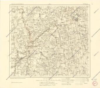 Karte des westlichen Russlands P17