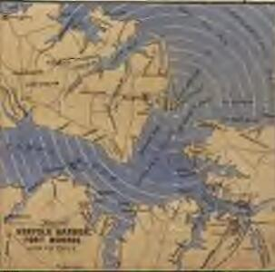 Map of Norfolk Harbour, Fort Monroe and Vicinity