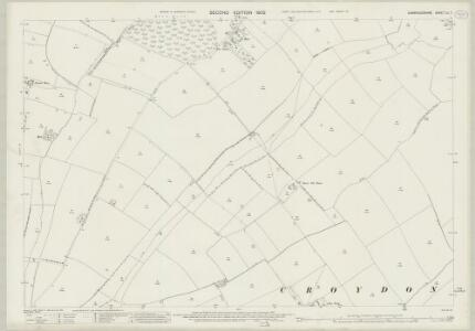 Cambridgeshire LII.7 (includes: Croydon; East Hatley; Tadlow) - 25 Inch Map