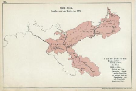 VIII. 1807 - 1815. Preußen nach dem Frieden von Tilsit
