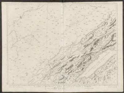 La comté de Neufchatel et partie des cantons de Leman et Fribourg