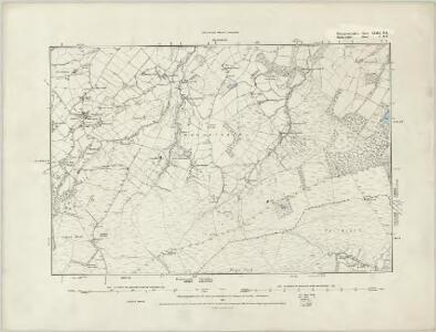 Merionethshire XVI.SW - OS Six-Inch Map