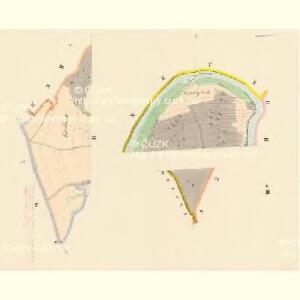 Bukowetz (Bukowec) - c0666-1-001 - Kaiserpflichtexemplar der Landkarten des stabilen Katasters