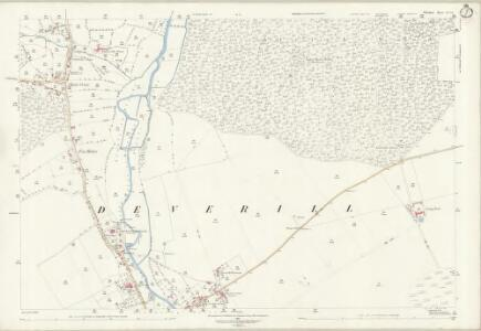 Wiltshire LI.16 (includes: Longbridge Deverill; Sutton Veny) - 25 Inch Map
