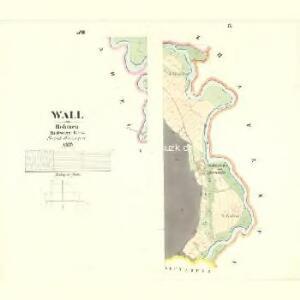 Wall - c8310-1-009 - Kaiserpflichtexemplar der Landkarten des stabilen Katasters