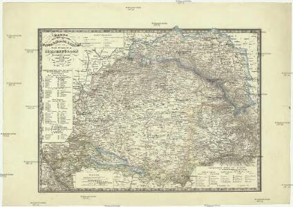 Galizien Karte.Karte Der Königreiche Ungarn Und Galizien