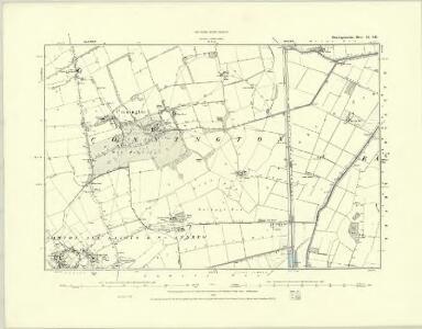 Huntingdonshire VIII.NE - OS Six-Inch Map