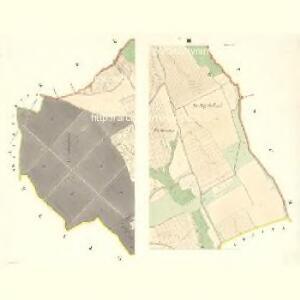 Rausko - m2608-1-001 - Kaiserpflichtexemplar der Landkarten des stabilen Katasters
