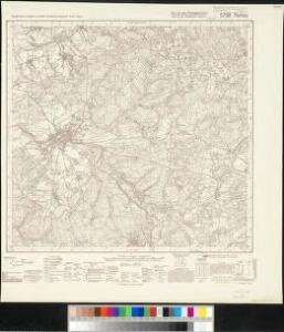 Meßtischblatt 5738 : Rehau, 1939