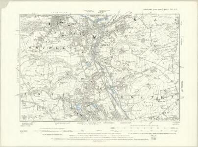 Yorkshire CC.NE - OS Six-Inch Map