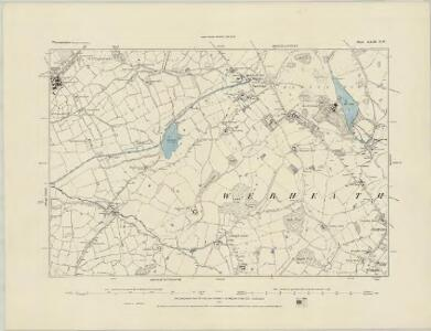Worcestershire XXIII.SW - OS Six-Inch Map