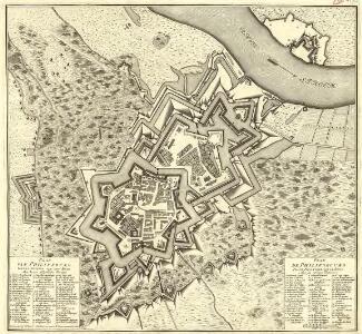 Plan van Philipsburg Grens-Vesting aan den Rhyn Met-haare Afgedeelde Werken